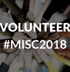 Volunteer at Melbourne International Student Conference 2018
